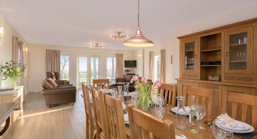 Dining in style at the Capercaillie