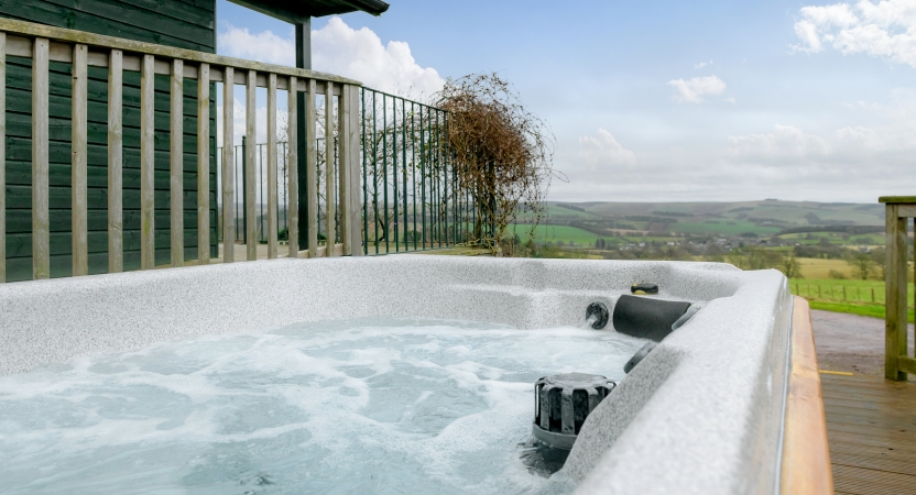 The Lodge Hot Tub