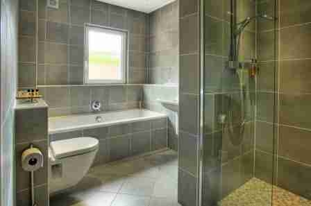 WetRoom downstairs in Capercaillie