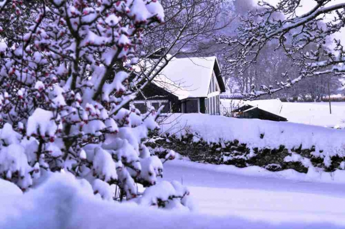 Winter at Airhouses