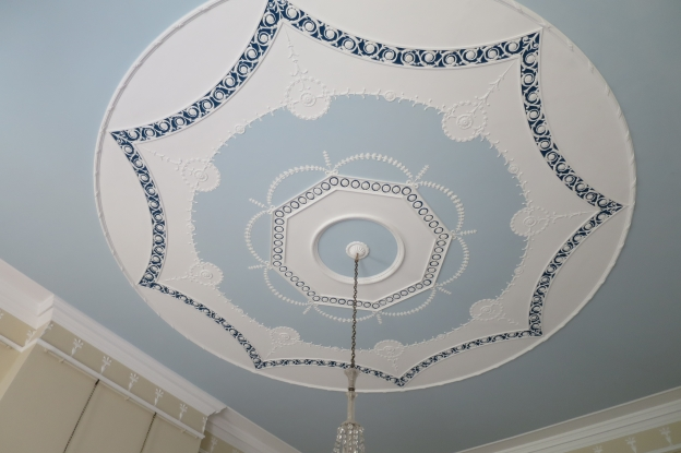 Ceiling at Mellerstain