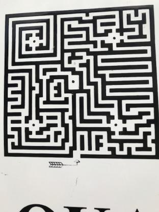 Traquair Maze