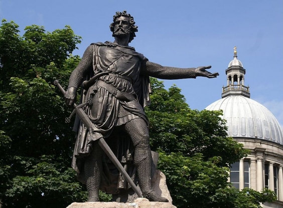 Sir William Wallace, a Scottish hero