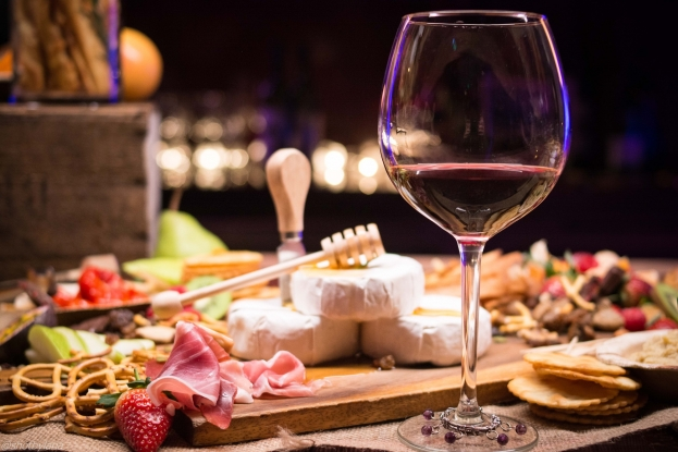 Cheese and wine — a marriage made in heaven