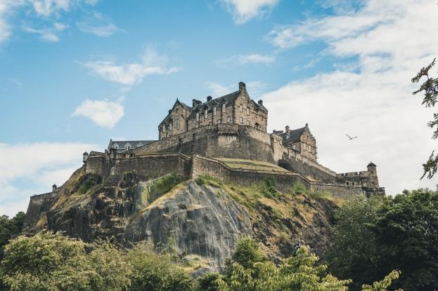 Why not take a walk around the Scottish capital?