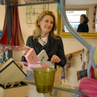 Find pretty trinkets at No.18 gift shop in Duns