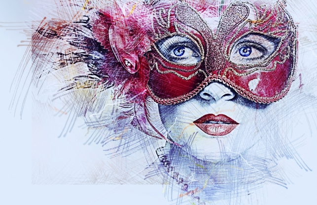 Experience the magic of a masked ball in winter
