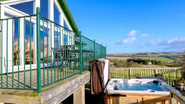 Hot tubs, country views and plenty of deluxe comforts