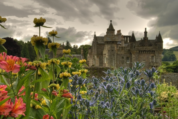 Explore the magical gardens at Abbotsford