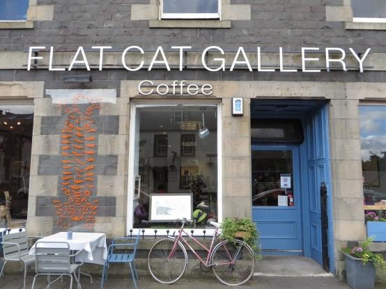 Shop for unique souvenirs at the Flat Cat Gallery