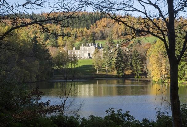 Upper Lake at Bowhill Estate