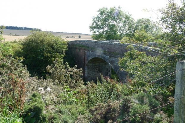 The Old Railway Bridge over Duns to Reston