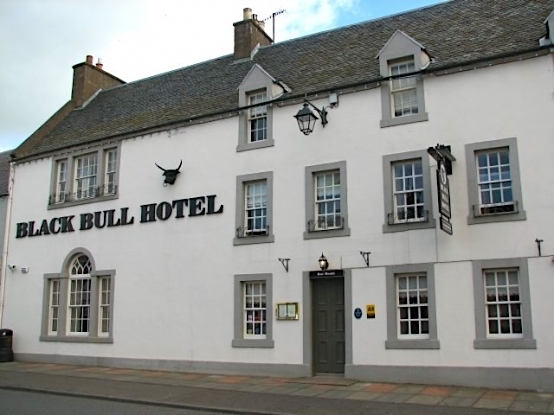 Step back into the 1700s at Black Bull Hotel