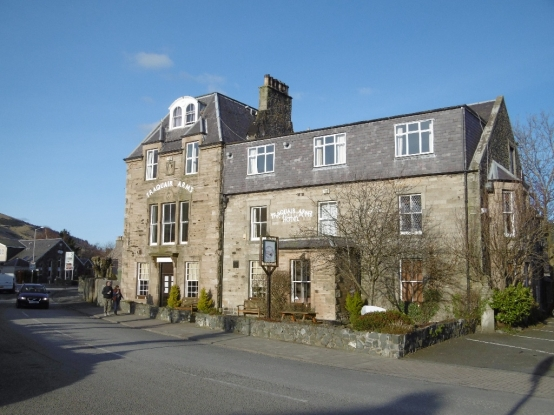 Dine on quality cuisine at The Traquair Arms