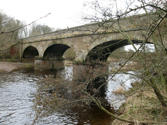 Bridge over Whiteadder Water at Todheugh, near Duns