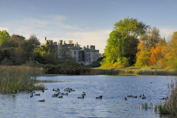 Duns Castle at Hen Poo Loch
