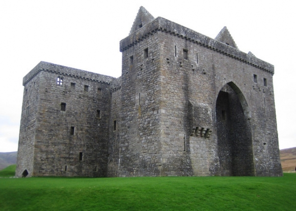 Is Hermitage Castle haunted?